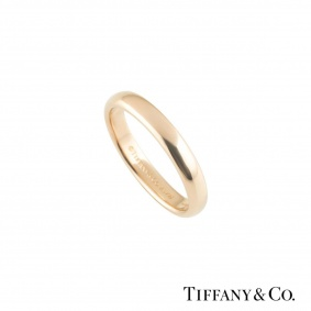 Tiffany & Co. Rose Gold Elsa Peretti Stacking Band Ring
